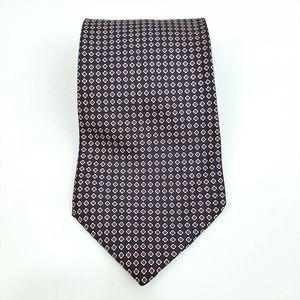 Brooks Brothers 346 Dots Silk Mens Neck Tie EUC
